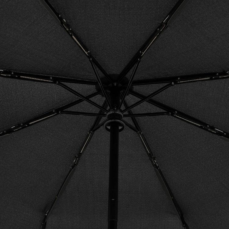 stormsäkert paraply i fickformat svart Doppler 7443163