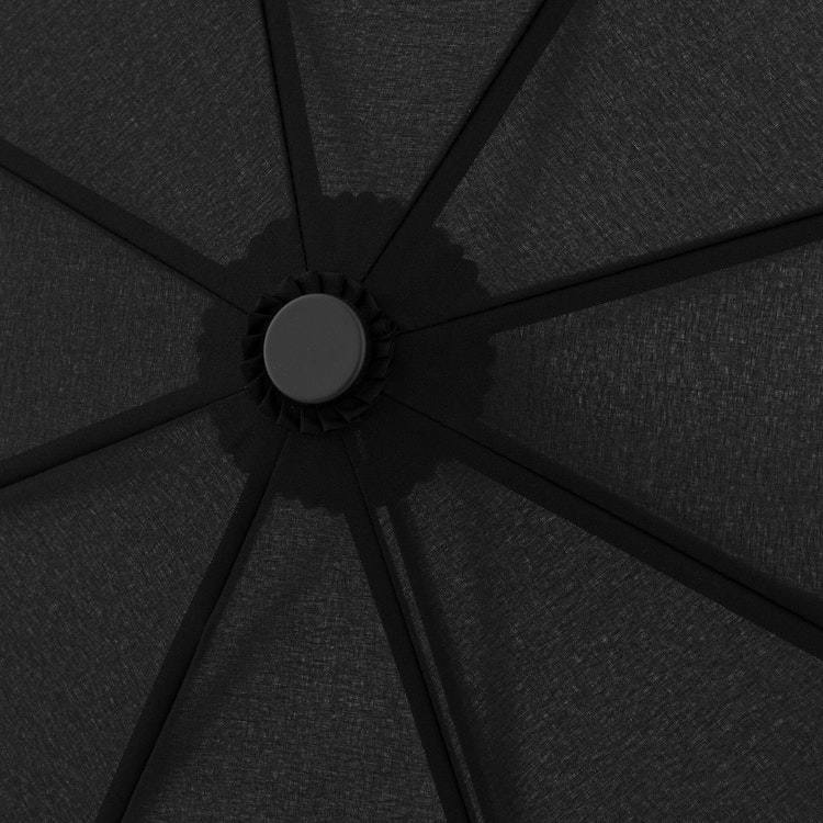 paraply som även tåler det värsta vädret svart 7443163