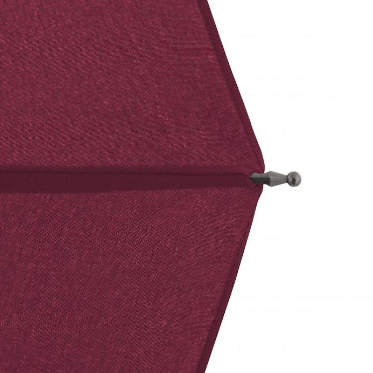 SUPERSTARKT paraply och somintevänder sig i vinden rött Doppler