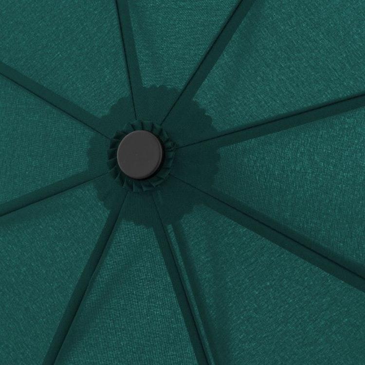 paraply som även tåler det värsta vädret mörkgrönt 7443163