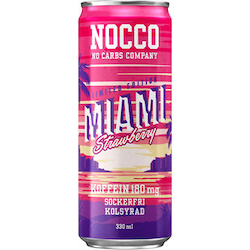 Nocco Miami Strawberry 33 cl