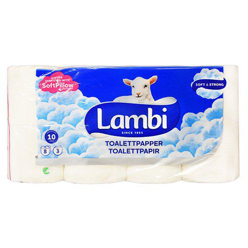 LAMBI toalettpapper 8-pack