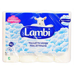 Lambi Toalettpapper 24-pack