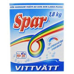 Spar Tvättmedel Vittvätt 1,8kg