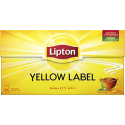 Lipton Yellow Label Tea 25p