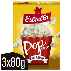 Estrella Popcorn Smör 3pack 24