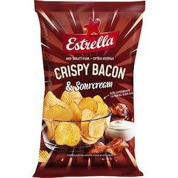 Estrella Crispy bacon