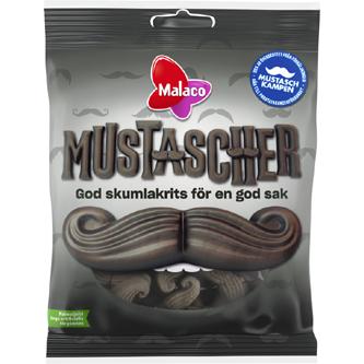 Malaco Mustascher 100 g Ltd