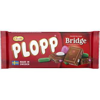 Cloetta Plopp b Bridge 75 Gr