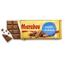 Marabou Mjölkchoklad 200 g