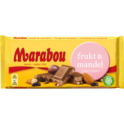 Marabou Frukt & Mandel 200 g