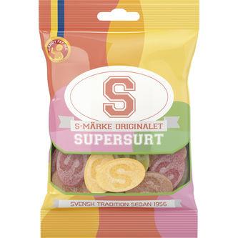S-Märke Supersur 80 g