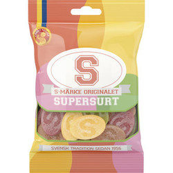 S-Märke Supersur 80 g