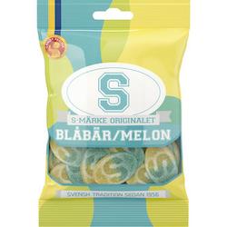S-Märke Blåbär-Melon 80 g