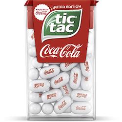 Tic tac coca-cola