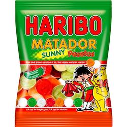 Haribo matador sunny peset 80g