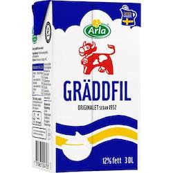 Gräddfil 12% 0,3L Arla