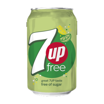 7 UP Free 33 cl