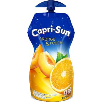 Capri-Sun Orange & Peach 33 cl