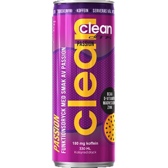 Clean Drink Passion 33 cl