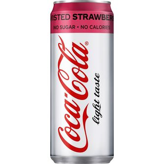 Coca-cola light Strawberry 33c