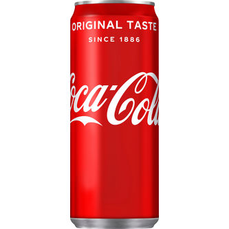 Coca-Cola Sleek Can 33 cl