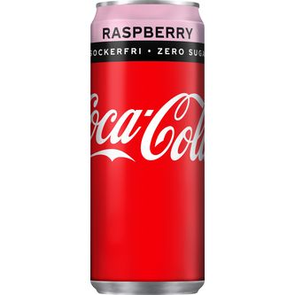 Coca-cola Zero Rasberry 33cl