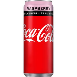 Coca-cola Zero Rasberry 33cl