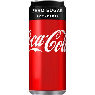 Coca-Cola Zero Sleek Can 33 cl