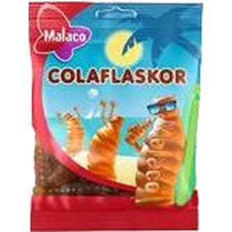 Malaco Colaflaskor 80g