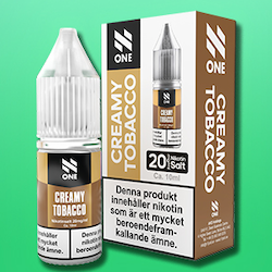 N One Creamy tobacco 20mg