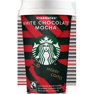 Starbucks White Choc mocha