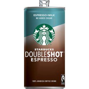 Starbucks Doubleshot no sugar