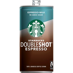 Starbucks Doubleshot no sugar