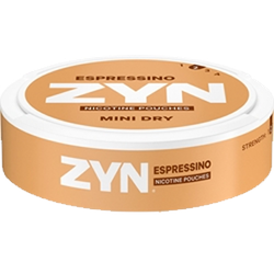Zyn Mint Dry espressino no2