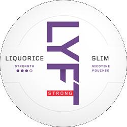LYFT Liquorice Strong Slim 16,