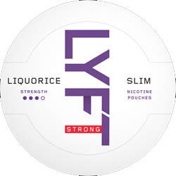 LYFT Liquorice Strong Slim 16,