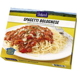 Familjen Dafgård Spaghetti Bol