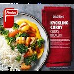Findus kycklingfilé curry 390