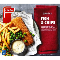 Fish & Chips 340 Gr