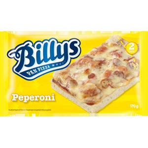 Billys pan pizza peperoni