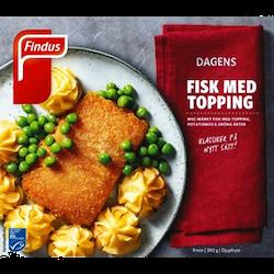 Findus Fisk med topping