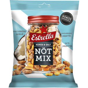 Estrella Nötmix Kokos&salt