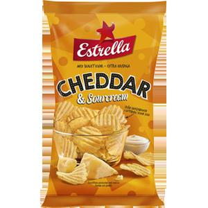 Estrella Cheddar/sourcream
