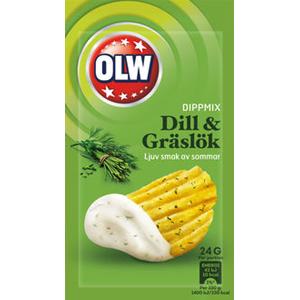 OLW Dipmix dill&gräslök
