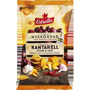 Estrella Nyskördad Kantarell