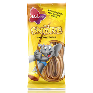 Malaco Snöre Karamell/cola