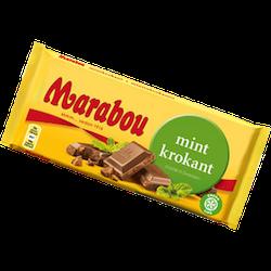 Marabou Mintkrokant 200 g