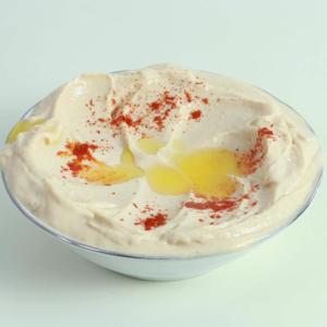 Hummus med tahini