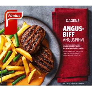 Findus Grillad Angusbiff med P